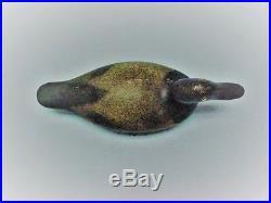 Vintage Evans Drake Bluebill Duck Decoy