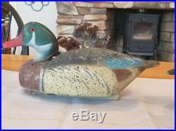 Vintage LL Bean Cork Wood duck Decoys