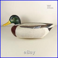 Vintage Mallard Duck Decoy by Delbert Cigar Daisey