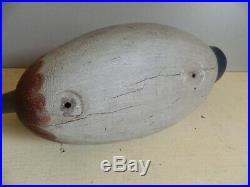 Vintage Mason Drake Widgeon Duck Decoy Nice Restored Condition