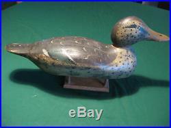 Vintage Mason Mallard Hen Duck Decoy Very Nice Paint Very Good Shape Look