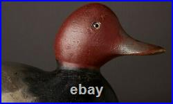 Vintage Mason Redhead Drake Duck Decoy Detroit, MI