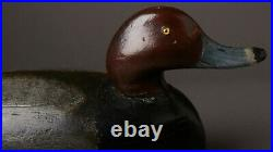 Vintage Mason Style Redhead Drake Duck Decoy Detroit, MI
