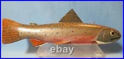 Vintage Michigan TROUT Ice FISH SPEARING DECOY Ernest ERNIE Peterson
