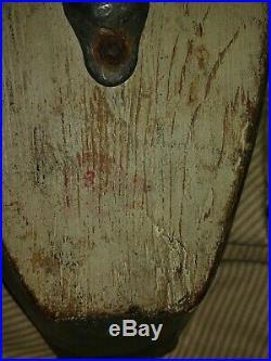 Vintage New England Merganser decoy