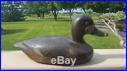 Vintage Ontario Canada Davey Nichol Hen Ringbill Fancy Old Duck Hunting Decoy