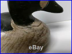Vintage Original 1967 Signed Cigar Daisy Duck Decoy Chincoteague, VA