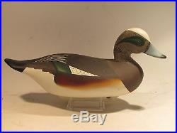 Vintage PAIR of Widgeon Duck Decoys by Charlie Bryan S&D 1993 O. P