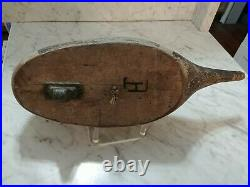 Vintage Pintail Drake Decoy By California Carved Seth Tiny Barry