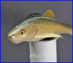 Vintage Sonny Bashore 7 Sucker Carved Fishing Fish Decoy Paulding OH