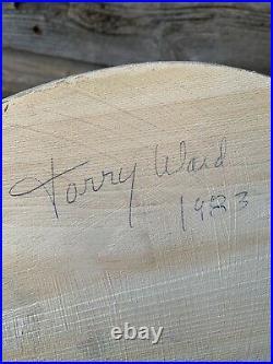 Vintage Torry Ward Duck Decoy Canvasback Drake And Hen Manitoba Decoys