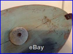 Vintage Torry Ward Shoveler Hen Decoy, Op, Delta Marsh, Signed, Branded