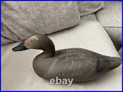 Vintage Wooden Duck Decoy