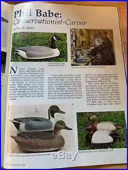 Vintage duck decoy Phil babe drake mallard sleeper