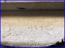 Ward Brothers Duck Decoy 1948 Bluebill Drake. Signed By Lem & Steve Ward