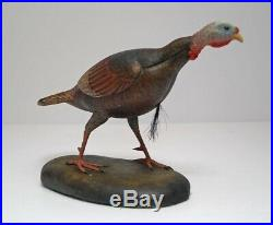 Wild Turkey Wood Carving By Frank Finney Wildlife Bird