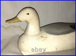Wildfowler Sea Gull Decoy Bird Point. Pleasant Vintage