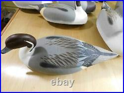 Wildfowler oversize Pintail decoys with custom heads and paint