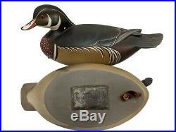 Wood Duck Decoy Pair George Strunk